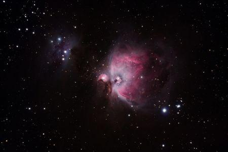M42 und Running Man-Nebel