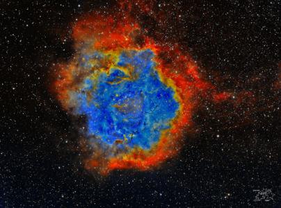Rosettennebel (NGC 2244)