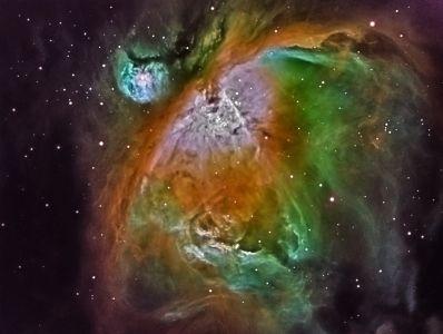 Großer Orionnebel M42 in Hubble Palette