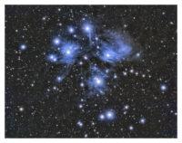 Pleiaden (Detail). Autor: Christoph Pütz (VAS e.V.)