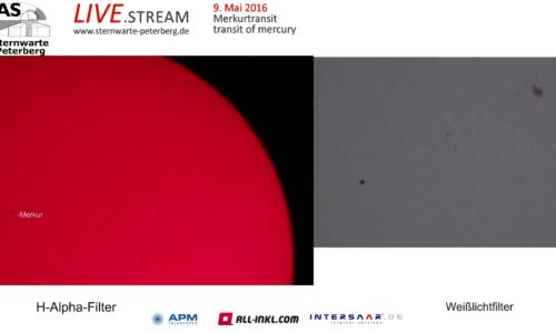 Merkurtransit 9. Mai 2016